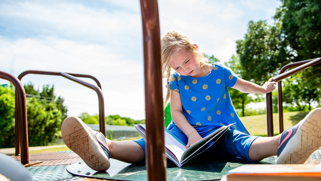 How to help your child make reading gains when school's out for summer
