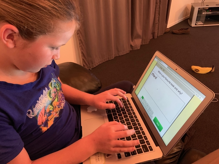 Anessa: memorising books and struggling with spelling